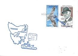 "229 - 7 - Enveloppe Navire Polaire ""Astrolabe""  Escale Hobart - Polar Ships & Icebreakers"
