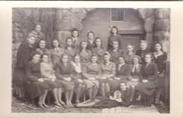 AK Foto Gruppe Frauen - Luftwaffenhelferin Sanitäter - 2. WK  (48102) - Guerre 1939-45
