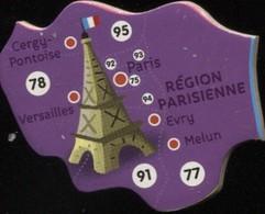 MAGNET REGION PARISIENNE N° 75-77-78-91-92-93-94-95 - Magnets