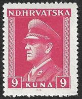 CROATIE  1943  -   YT 86  -  Pavelitch -  NEUF** - Croatie