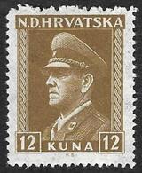 CROATIE  1943  -   YT 88 -  Pavelitch -  NEUF** - Croatie