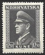 CROATIE  1943  -   YT 89 -  Pavelitch -  NEUF** - Croatie