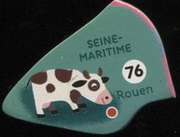 MAGNET SEINE MARITIME ROUEN N° 76 - Magnets