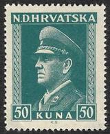 CROATIE  1943  -   YT  92 -  Pavelitch -  NEUF** - Croatie