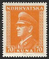 CROATIE  1943  -   YT  93 -  Pavelitch -  NEUF** - Croatie