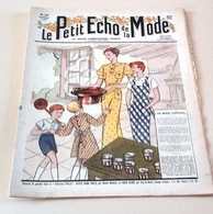 Le Petit Echo De La Mode N°33 Août 1935 Belles Illustrations De Mode Les Bonnes Confitures - 1900 - 1949