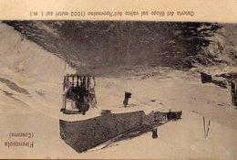 CARTOLINA DI FIRENZUOLA OSTERIA DEL GIOGO  RARA  VIAGGIATA NEL 1910 - Italia