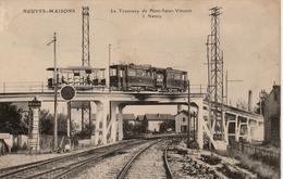 54-NEUVES MAISONS-NANCY-TRAMWAY-PONT SAINT VINCENT-CIRCULEE 31/12/1912//T-B-E - Neuves Maisons