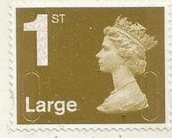 Great Britain - 2009 Self-adhesive (golden) 1st  Large MNH ** - Ungebraucht