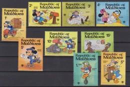 2554 Walt Disney  Rep Maldives ( Alice In Wonderland ) 1979 International Year Of The Child . . - Disney