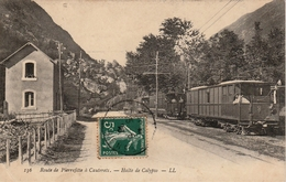 [65] Hautes Pyrénées - LHALTE DE CALYPSO  Rotre De Pierrefitte à Cauterets -une Gare Pittoresque , /T-B-E//ANIMEE- - France