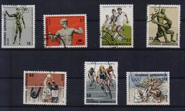 GREECE STAMPS 1986 SPORTS EVENTS-3/3/86 -USED-COMPLETE SET - Grèce