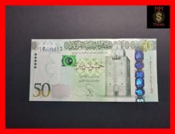 LIBYA 50  Dinars 2013  P. 80  UNC - Libya