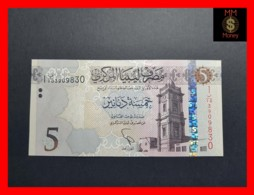 LIBYA 5  Dinars 2015  P. 81  UNC - Libya