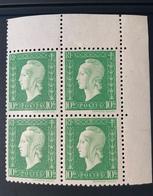 NEUF Bloc De 4 Timbres Marianne De Dulac 10F  YT 698 - Unused Stamps