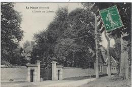 80  Le Mazis  L'entree Du Chateau - Autres Communes