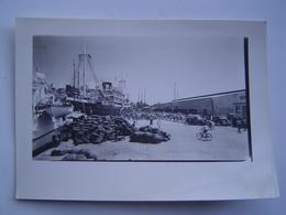 PHOTO Ancienne 1960 : PAQUEBOT TAHITIEN MESSAGERIES MARITIMES / PAPEETE / TAHITI / OCEANIE ( FRANCE ) - Bateaux
