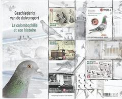 Belg. 2020 - La Colombophilie (Pigeon) ** - België