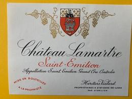 12446 - Château Lamartre 1981 Saint-Emilion Petite étiquette - Bordeaux