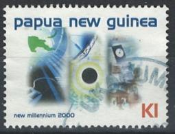 Papua New Guinea 2000. Mi.Nr. 872, Used O - Papua Nuova Guinea