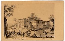 MILANO - LA CASSINA DI POMM - 1947  - Annullo A Targhetta - Vedi Retro - Formato Piccolo - Milano (Milan)