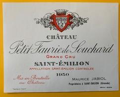 12459 - Château Petit Faurie Souchard 1950 Saint-Emilion - Bordeaux