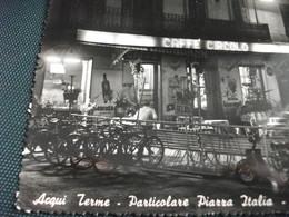 INSEGNA BIRRA BEER BIER Cervisia CAFFE' CIRCOLO AMARETTI VOGLINO ACQUI TERME PARTICOLARE PIAZZA ITALIA NOTTURNO PIEMONTE - Caffé
