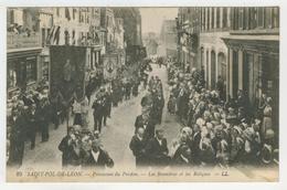 29 - Saint-Pol-de-Léon - Procession Du Pardon  -  Les Bannières Et Les Reliques - Saint-Pol-de-Léon