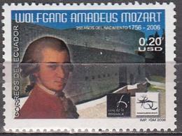 Equador 2006 Mozart  Michel 2917  MNH 26069 - Musique