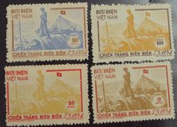 North Vietnam Viet Nam MNH Stamps 1954 : Victory At Dien Bien Phu / Flag (Ms011) - Vietnam