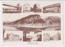 CZECH REPUBLIC - AK 375653 DECIN - MODERN REPRODUCTION CARD - República Checa