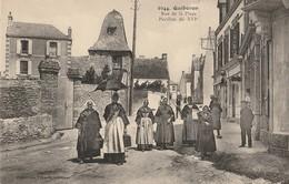 CPA-56-QUIBERON-Rue De La Plage-Pavillon Du XVIème-Animée - Quiberon