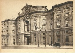 """6776"""" MOSTRA DEL BAROCCO PIEMONTESE-GIUGNO/OTTOBRE 1937-XV-PALAZZO CARIGNANO SEDE MOSTRA""""  -CARTOLINA POSTALE  NON SPED. - Exhibitions"""