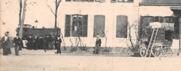 FOURCHAMBAULT (58) - Précurseur - La Gare En 1901 - Locomotive - Carriole Et Attelage à Cheval En Petit Plan - Francia