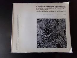 Mostra Nazionale Del Marmo E Delle Tecniche D'impiego Del Marmo ... 1965, 159 Pages - Livres, BD, Revues