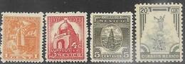 Mexico   1947   Sc#837, 840-1, & 846   MNH   2016 Scott Value $6.65 - Mexico