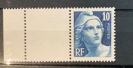 1945 NEUF Marianne De Gandon 10 F YT 726 - Unused Stamps