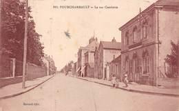 FOURCHAMBAULT (58) - La Rue Gambetta En 1923 - Ravard éditeur - Francia