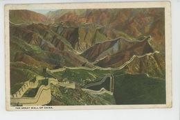 ASIE - CHINE - CHINA - The Great Wall Of China - China