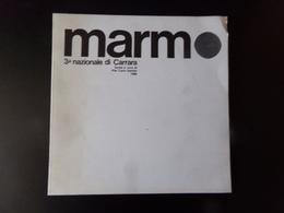 Marmo 3 ème Nazionale Di Carrara, 1968, ( Taches Sur La Couverture ) - Livres, BD, Revues