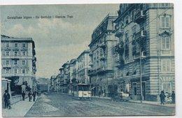 CORNIGLIANO LIGURE - VIA GARIBALDI - STAZIONE TRAM - VIAGGIATA - Genova (Genoa)