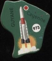 MAGNET GUYENE CAYENNE N° 973 - Magnets