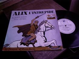 Journal De Tintin, Alix L'intrépide, Par Jacques Martin Disque Vinyle 1960 - Collectors