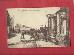 CPA En Mauvais état - Albert - Rue De Bapaume - Albert