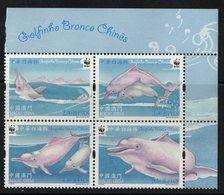 Macau 2017. The Marine Fauna. Dolphins.  MNH - 1999-... Sonderverwaltungszone Der China