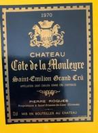 12478 - Château Côte De La Mouleyre 1970 Saint-Emilion - Bordeaux