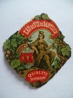 Ancienne étiquette EAU DE VIE DE DANTZICK - Whisky