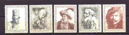 Nederland - Niederlande - Pays Bas NVPH 671 T/m 675 MH * (1956) - Nuevos