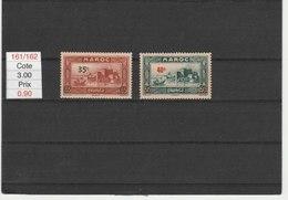 MAROC**LUXE N° 161/162 COTE 3.00 - Maroc (1891-1956)