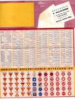 Petit Calendrier De Poche Publicitaire 1961. Boucherie P. Macaudière , Caluire. - Calendriers